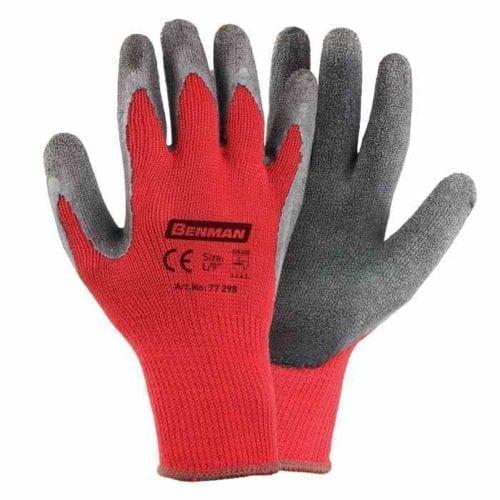 Γάντια υφασμάτινα με επικάλυψη latex