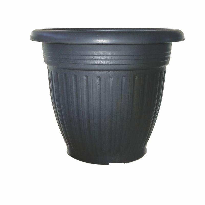 Γλάστρα Πάτμος ανθρακί Ν.35