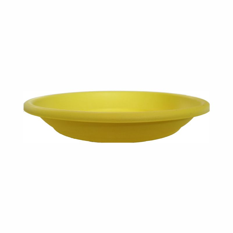 Πιάτο γλάστρας Πάτμος κίτρινο