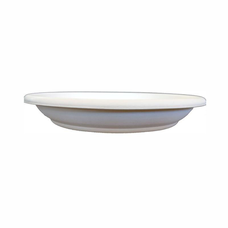 Πιάτο γλάστρας Πάτμος λευκό