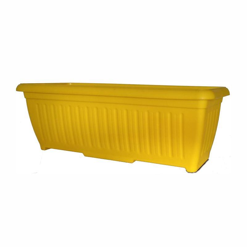 Ζαρντινιέρα Πάτμος κίτρινη